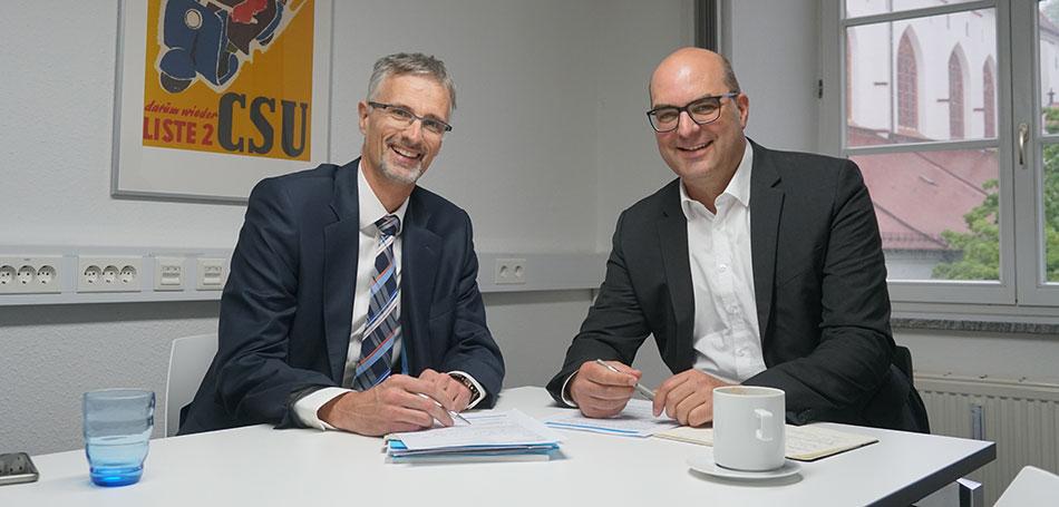 Haus & Grund im Dialog mit MdB Michael Kießling